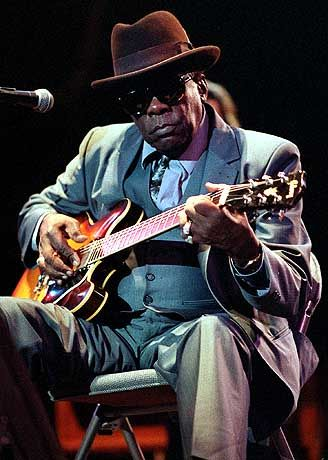 John Lee Hooker....another one of those fine blues guitar players