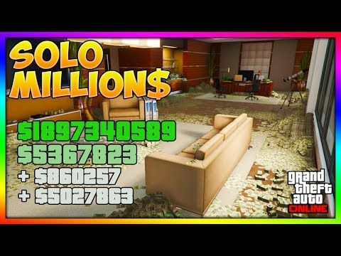 TOP METHODS To Make *MILLIONS* SOLO Fast & Easy In GTA 5 Online | BEST Unlimited Money Guide/Method! -  http://www.wahmmo.com/top-methods-to-make-millions-solo-fast-easy-in-gta-5-online-best-unlimited-money-guidemethod/ -  - WAHMMO