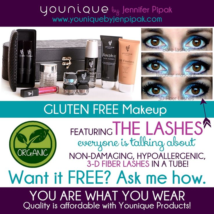 Younique Products Flyer