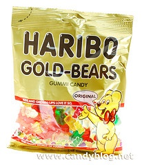 Haribo Gold Bears from Turkey and Germany    (I knew there was a difference!)