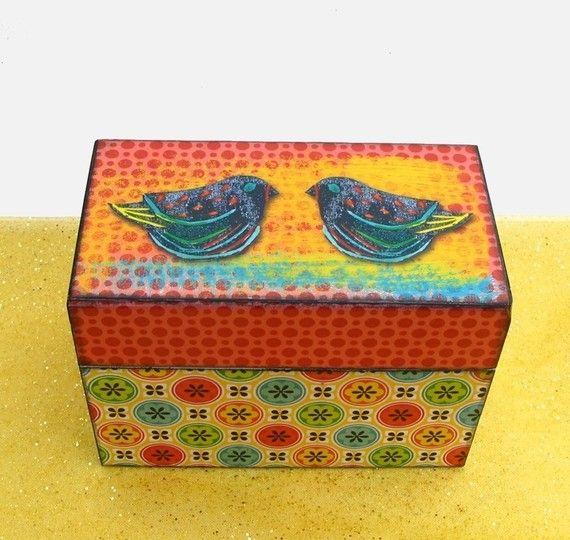 Decorative Recipe Box 2: 66 Best Recipe Boxes Images On Pinterest