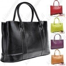 Muodikas käsilaukku, eri värivaihtoehtoja