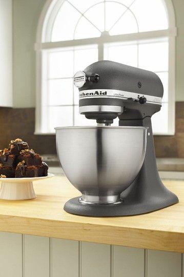 KitchenAid Ultra Power Tilt-Head Stand Mixer - Imperial Grey by KitchenAid Electrics on @HauteLook