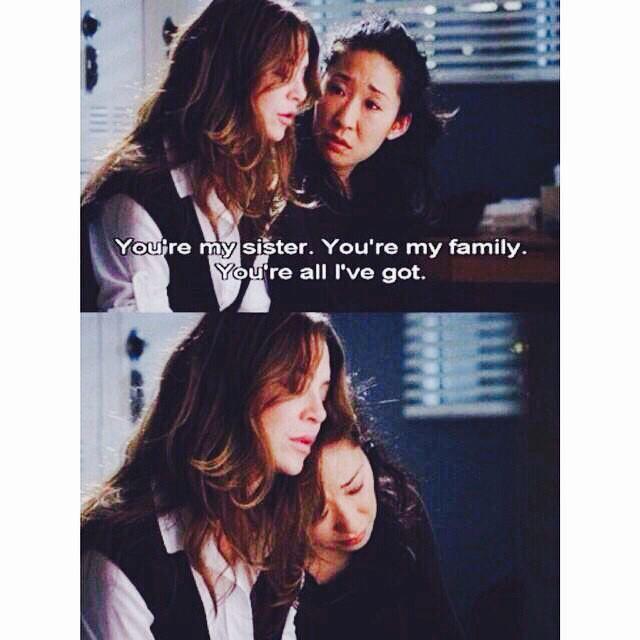 friendship goals | I Love Grey's Anatomy | Pinterest ...