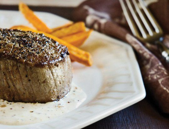 Simply Suppers: Seared Steak Filets with Mustard Sauce