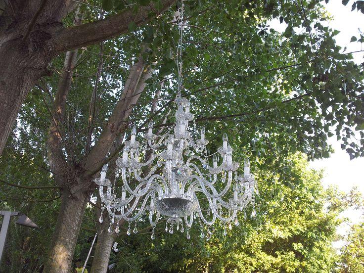 lampadari di cristallo...