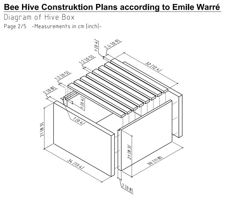 Bee Hive Construction Plans - WoodWorking Projects & Plans