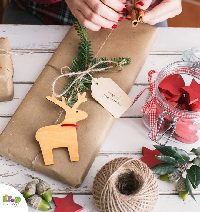 6 DIY wrapping ideas for your Christmas gifts!