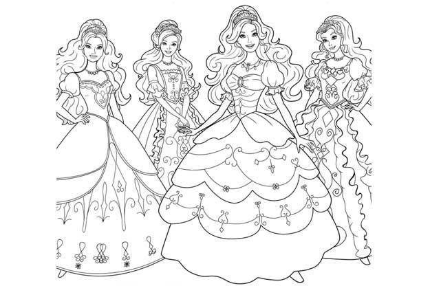 Ausmalbilder Barbie Zum Ausdrucken 1ausmalbilder Com Ausmalbilder Ausmalbilder Barbie Barbie Malvorlagen