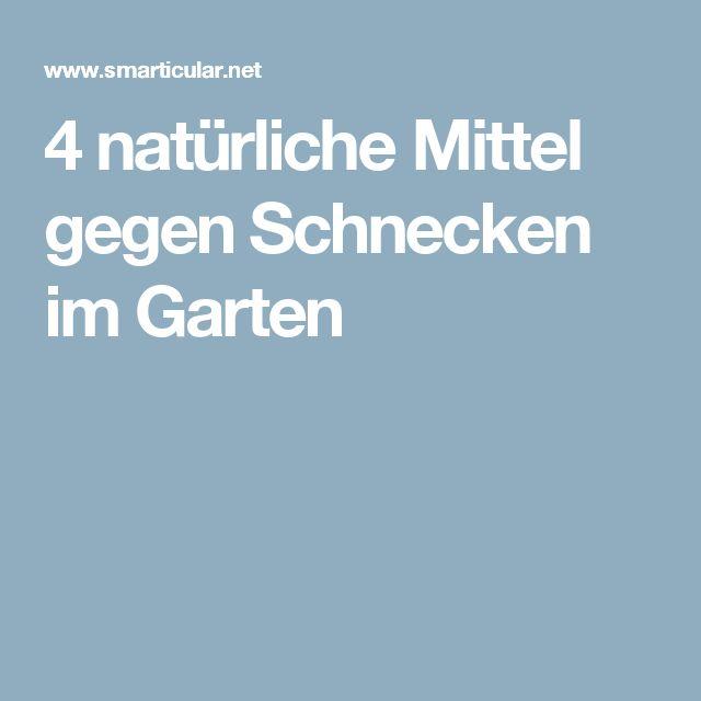 4 natürliche Mittel gegen Schnecken im Garten