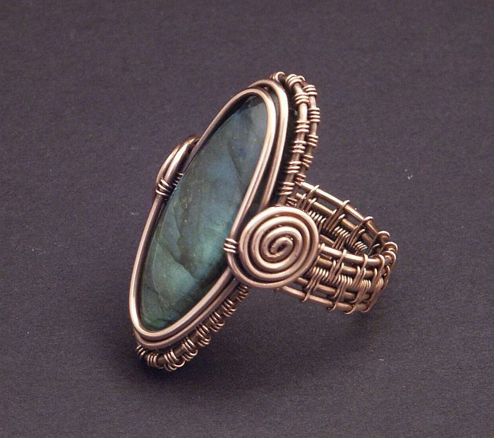 Best Wirework Rings Images On Pinterest Jewlery Rings And - Cute diy wire rings for middle phalanges