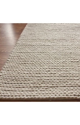 Wool Cable Rug. $399 for 5x8: Chunky Cable, Living Rooms, Cable Rugs, Area Rugs, Cable Chunky, Master Bedrooms, Wool Rugs, White Rugs, Chunky White