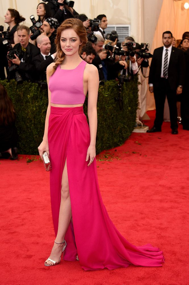 Stunning Emma Stone in Thakoon at the Met Gala 2014