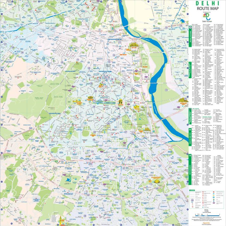 Delhi Tourist Map #delhicitymap #delhimap #delhitourismmap http://www.toursoftajmahal.com/blog/delhi-tourist-map/