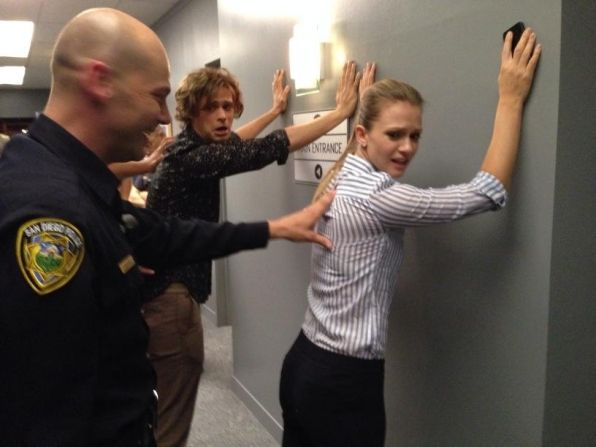 Twitter @CM_SetReport: Caught red-handed! @GUBLERNATION @ajcookofficial What do you think they're in for? #criminalminds