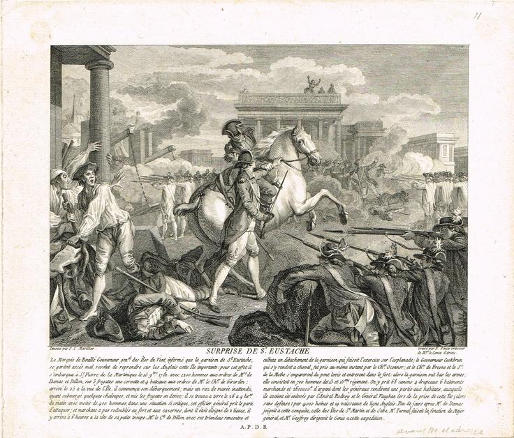 Surprise de Saint-Eustache le 26 septembre 1781