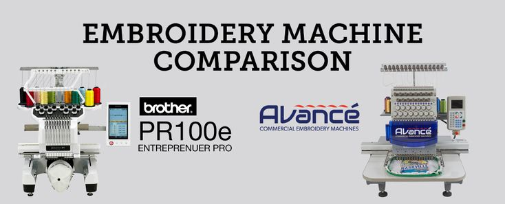 Brother PR1000e Entrepreneur Pro vs. Avancé 1501C  Commercial (Computerized) Embroidery Machine Comparison    Brother PR1000e compared to ColDesi's Avancé 1501C  45 years of experience in the world of commercial embroidery, selling equipment, supporting new embroidery businesses, helping large commercial shops expand and even operating a uniform/embroidery business gives ColDesi a unique perspective on the marketplace.    ColDesi designed the Avancé 1501C