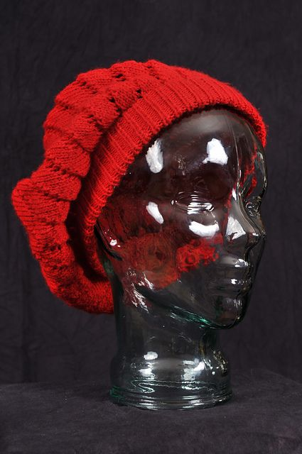 """Ravelry: """"Once Upon a Time""""-Inspired Ruby Beret pattern by Leslie Dalton"""