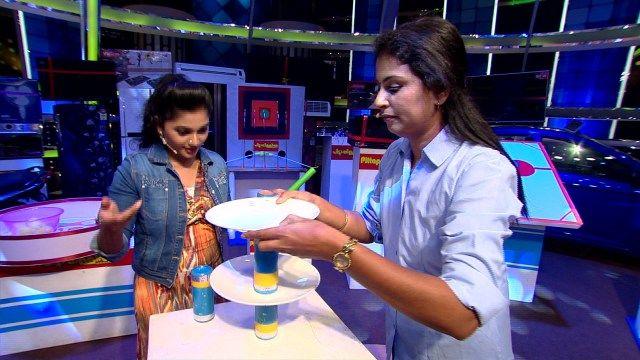 Binu Adimali And Stefi-Smart Show   Flowers   Ep#93