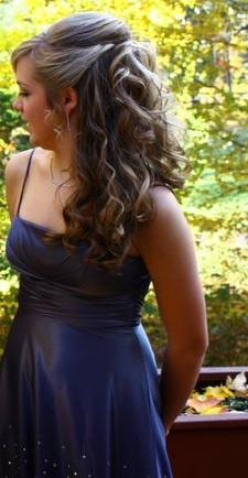 half up half down curly do for all the bridesmaids.That looks pretty.Please check out my website thanks. www.photopix.co.nz