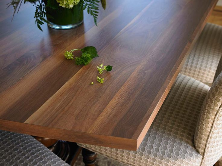 How To Finish Walnut Kitchen Countertops