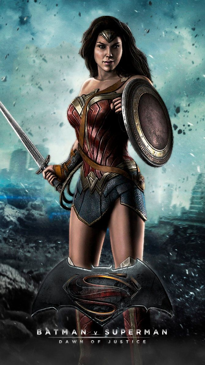 WONDER WOMAN (Batman v Superman: Dawn of Justice) by ...