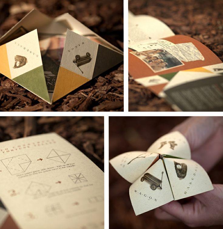 *Spencer's Crossing - very nice design process, old school based, retro