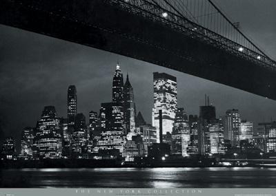 NEW YORK: Manhattan Bridges, New York Cities, Picture-Black Posters, Art Prints, Brooklyn Bridges, Art Posters, The Bridges, New York City, Cities Brooklyn