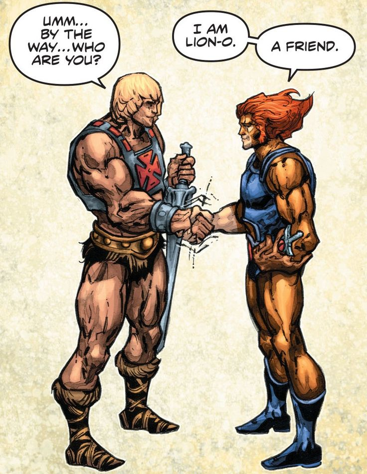 A Friendship Begins in He-Man/Thundercats #4