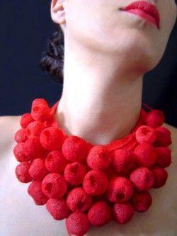 Necklace model Natalie Clifford