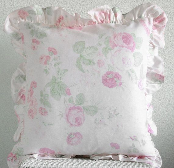 Shabby Chic Throw Pillows Sale ... shabby chic, 16 X 16 throw pillow cover. This is for the ...