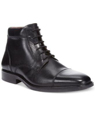 Johnston & Murphy Men's Tillman Waterproof Cap Toe Boots | macys.com