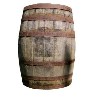 Old Wooden Barrel Prop - http://thegoodgreatsby.com/2011/07/05/a-barrel-of-laughs-no-just-a-barrel/