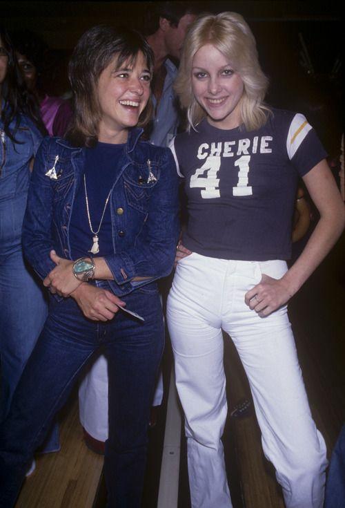 Cherie Currie and Suzi Quatro