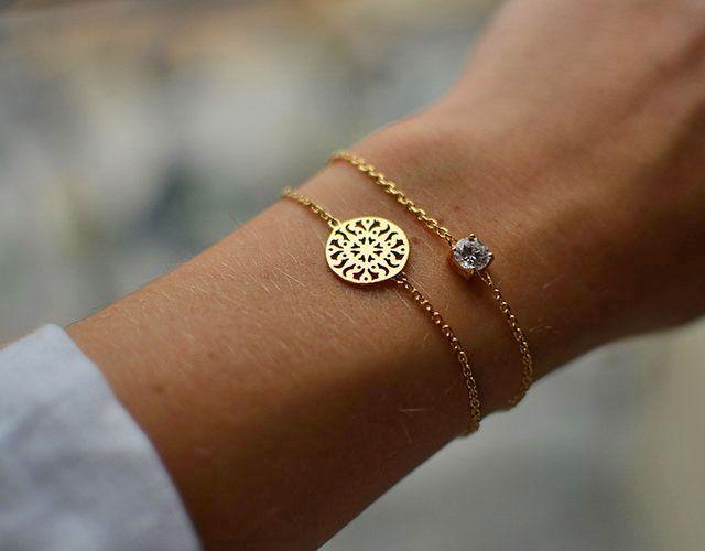 Delicate bracelet.