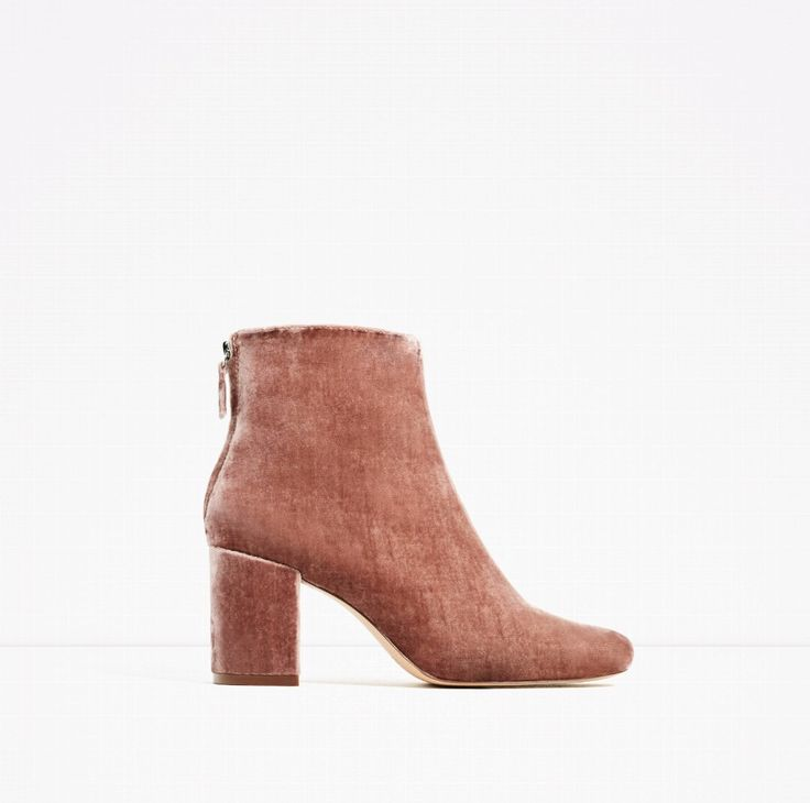 Roze fluweel, all you need in life (ZARA)