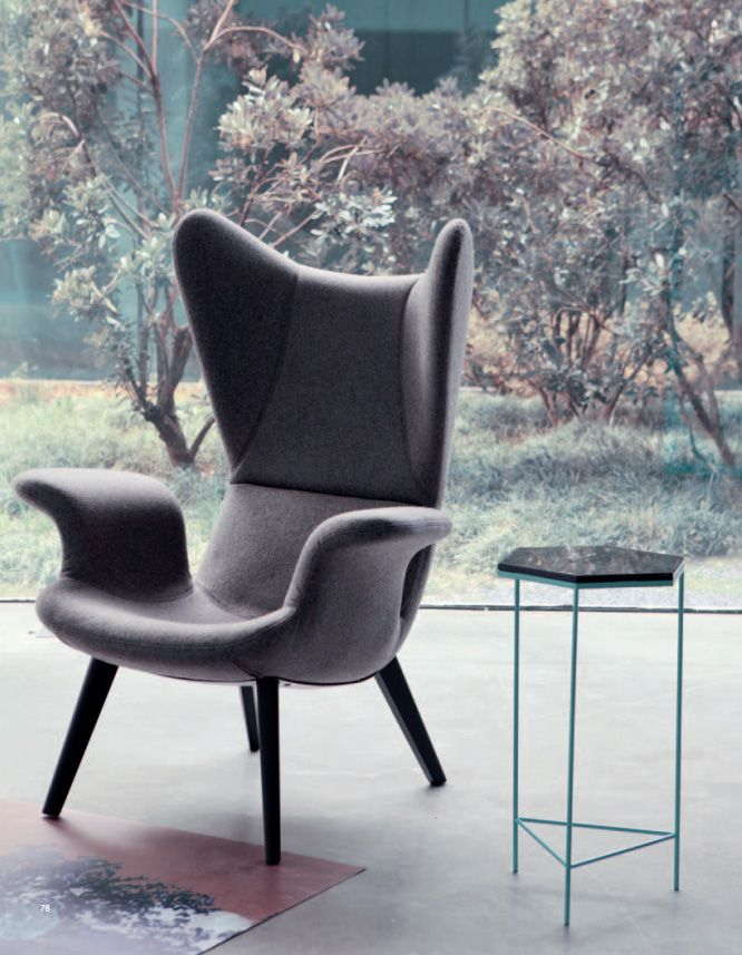 // Longwave chair, Diesel Furniture Collection with Moroso