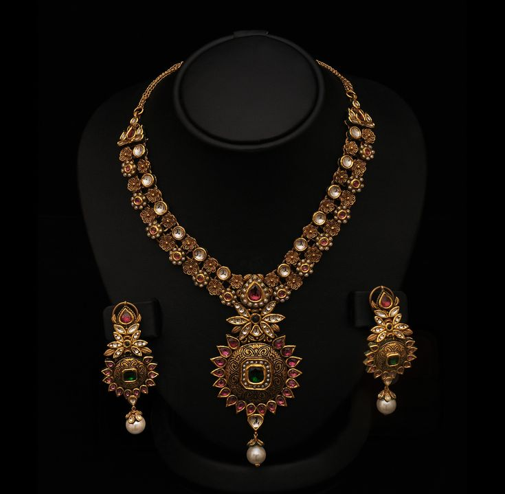 Indiangoldesigns Com Beautiful Antique Bridal Necklace: 40 Best Jewelry Designs Images On Pinterest