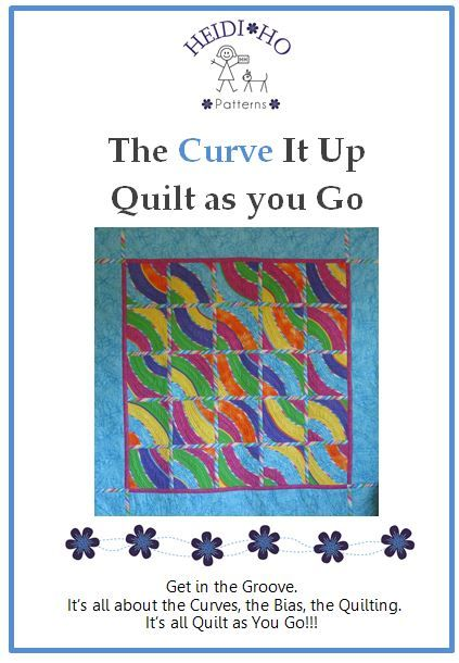 This is a great quilt to make. It's all about the bias & no piecing!!