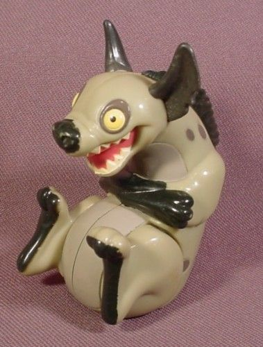 "Burger King 1994 Lion King Ed The Hyena Figure Toy, 2 1/2"" Tall, Squeaking Sound"