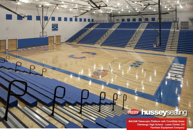 Olentangy High School Maxam Telescopic Gym Seating