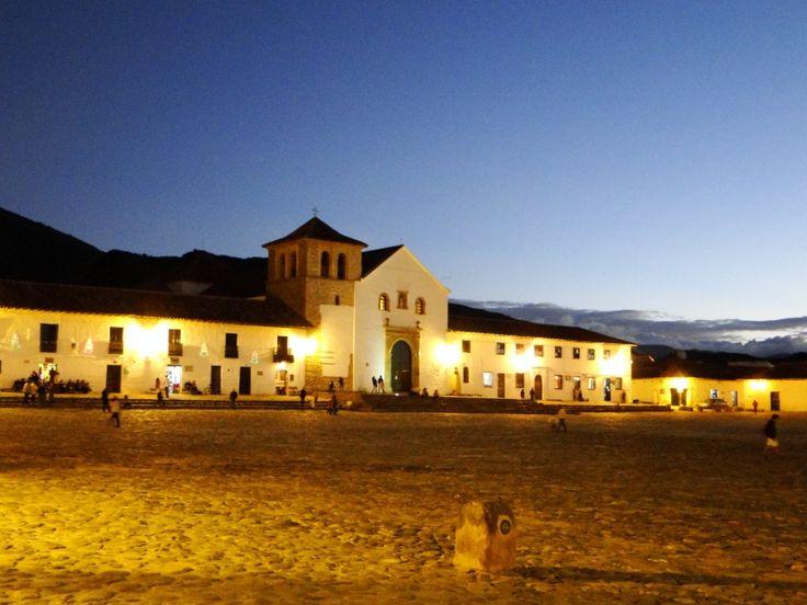 Plaza principal de Villa de Leiva #villadeleivatravel  #Alianzasue  @Alianzasue  @villadeleiva_tr