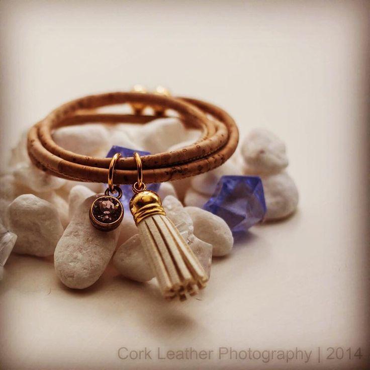 Cork Leather bracelet Www.corkleather.com.au