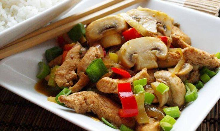 Jalapeňos nudličky z woku