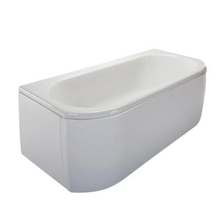 Trojan - Arc Bow Front 1700 Double Ended Bath with Front & End Panels