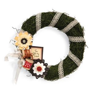 For You My Friend Wreath
