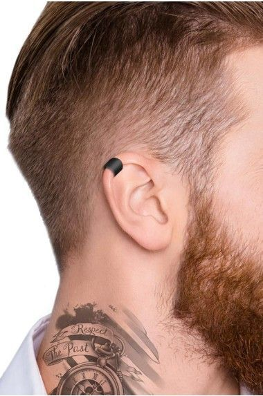 Shop for black ear cuff on Differio. Browse our mens jewelry for black earrings for men, cartilage cuffs, ear wraps, non pierced and more. Buy our black ear cuff here! Tragus Piercings, Piercing Smiley, Guys Ear Piercings, Ear Piercings Chart, Medusa Piercing, Multiple Ear Piercings, Lip Piercing, Ear Piercings For Guys, Helix Ear Piercing