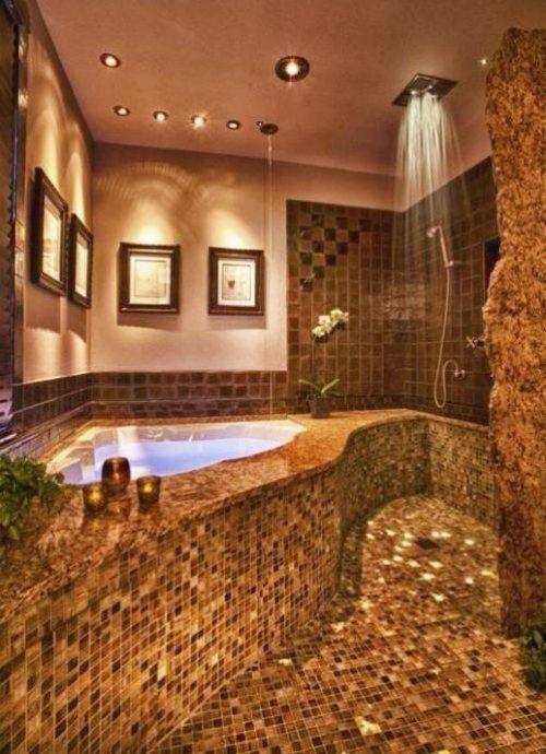Bathroom With Hot Tub Interior 51 best hot tubs images on pinterest | luxury bathrooms, bath tubs