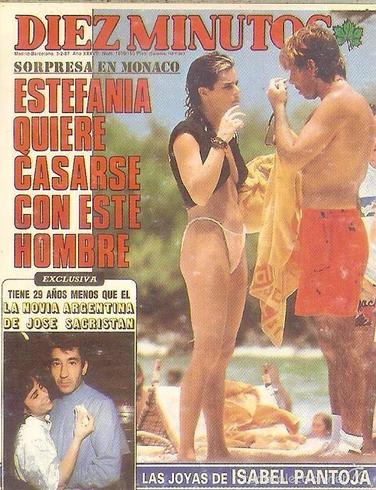 1988 - REVISTA DIEZ MINUTOS - ESTEFANÍA DE MÓNACO