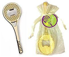 Tennis Racquet Bottle Opener